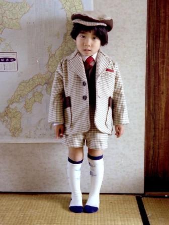 昔の手芸作品 スーツ 1