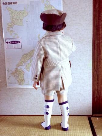 昔の手芸作品 スーツ 2