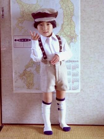 昔の手芸作品 スーツ 4