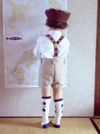 昔の手芸作品 スーツ 5