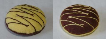 フェルト手芸 クッキー 2