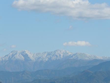 雪景色の石鎚山 1