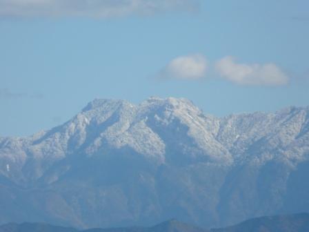 雪景色の石鎚山 2