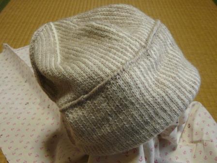 ニットの帽子 2