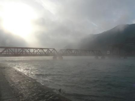 長浜大橋付近