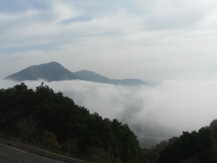 大洲・冨士山から見た雲海 1