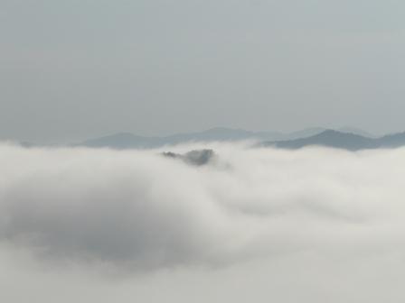 大洲・冨士山から見た雲海 3