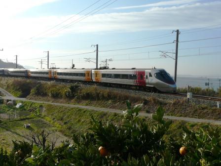 大浦-浅海 3 8000系特急電車
