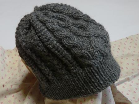 ニットの帽子 3