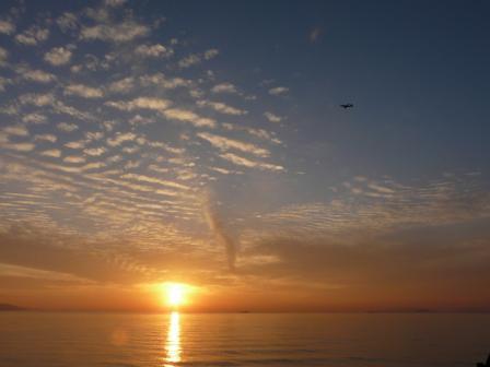 2008.12.28 塩屋海岸の夕景 2