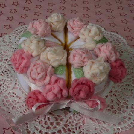 フェルト - ウェディングケーキ 3