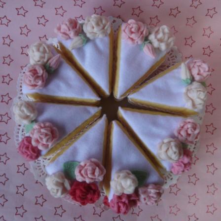 フェルト - ウェディングケーキ 2