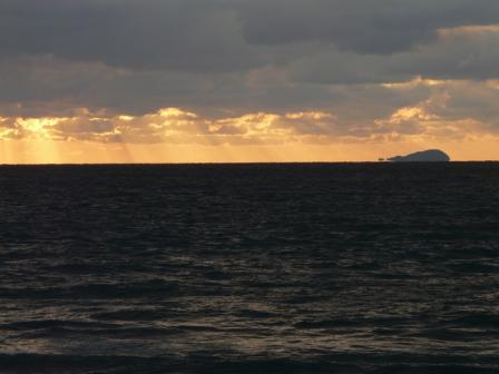 2009.1.13 塩屋海岸の夕景 2