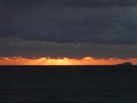 2009.1.13 塩屋海岸の夕景 4