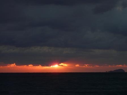 2009.1.13 塩屋海岸の夕景 5