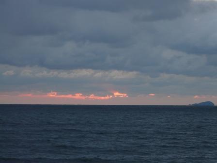 2009.1.13 塩屋海岸の夕景 6