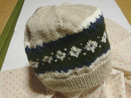 ニットの帽子 4