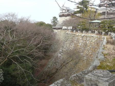 屏風折の石垣