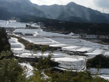 上林の雪景色 1