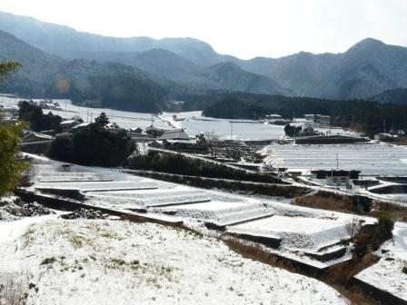 上林の雪景色 2