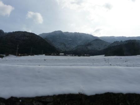 上林の雪景色 4