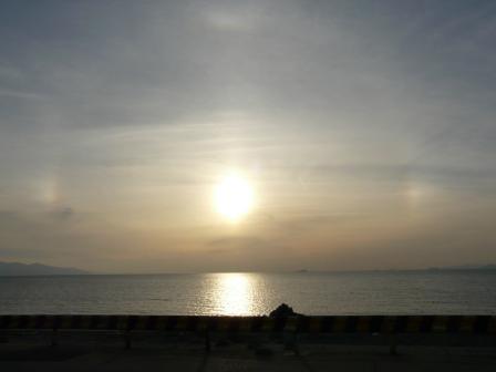 塩屋海岸 幻日 1