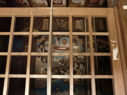 太山寺 鐘楼堂内部