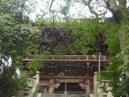 太山寺 山門