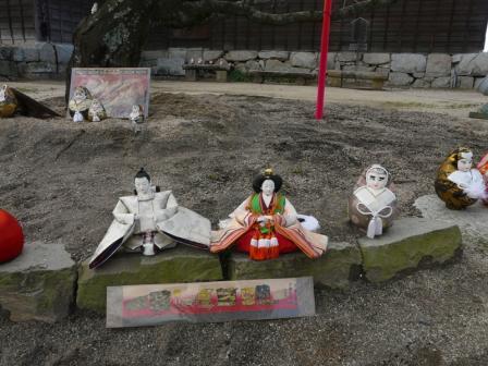 松山城 ― 城壁雛 1