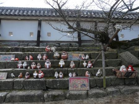 松山城 ― 城壁雛 2
