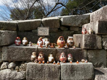 松山城 ― 城壁雛 6