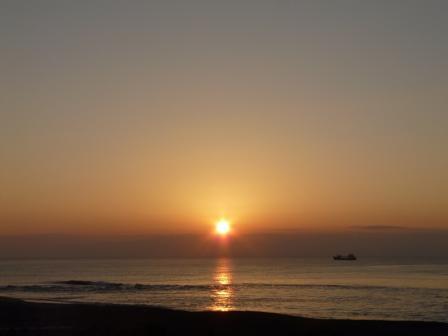 土佐湾 朝の景色 5