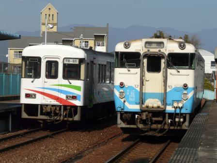キハ40 と ASA-101