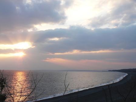 芸西村・琴ヶ浜 の夕景 1