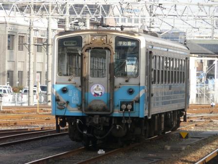 松山駅 キハ54