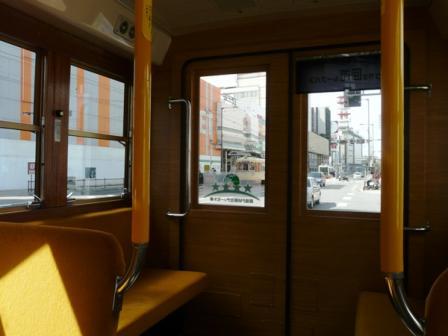 マドンナバス 車内