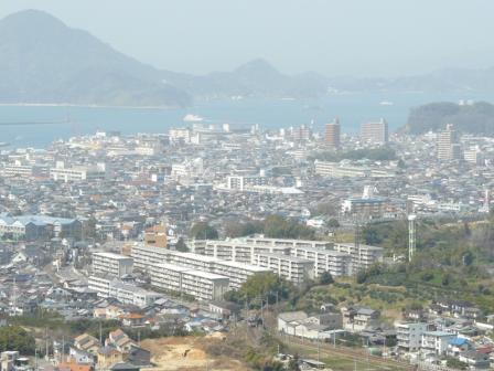 松山総合公園・展望塔から