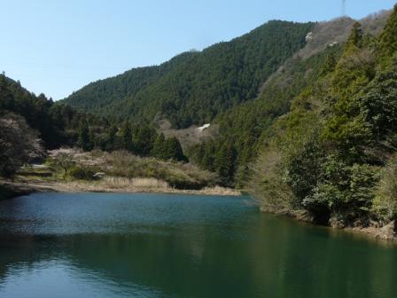 中山川逆調整池堰堤
