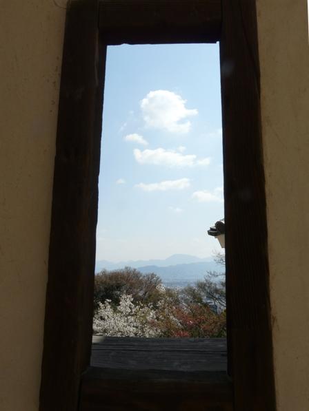 松山城 狭間からの景色