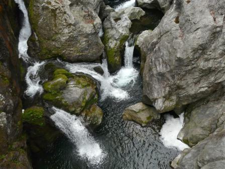 八釜の甌穴群 1
