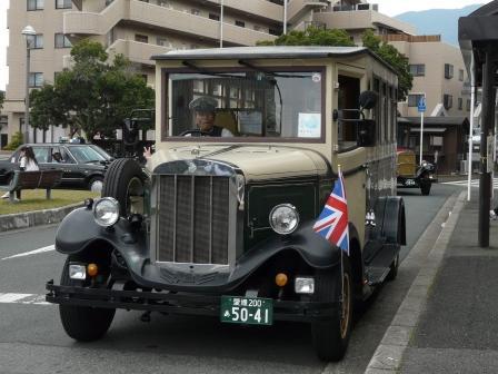 内子駅 レトロバス 「ちゃがまる」 2