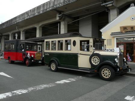 内子駅 レトロバス 「ちゃがまる」 4