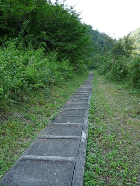 別子鉱山鉄道・下部鉄道跡 1