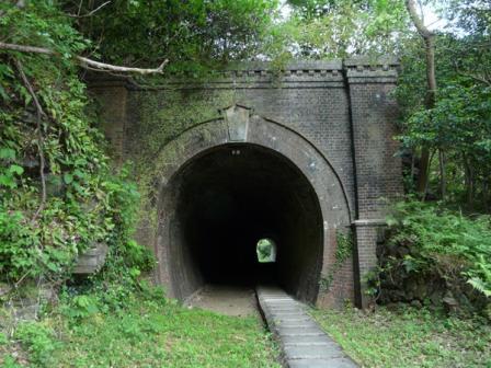別子鉱山鉄道・下部鉄道跡 2