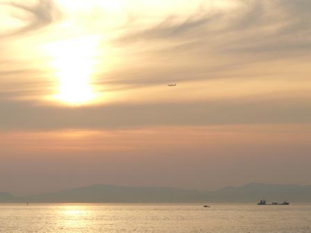 モンチッチ海岸 夕景 2