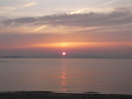 モンチッチ海岸 夕景 5