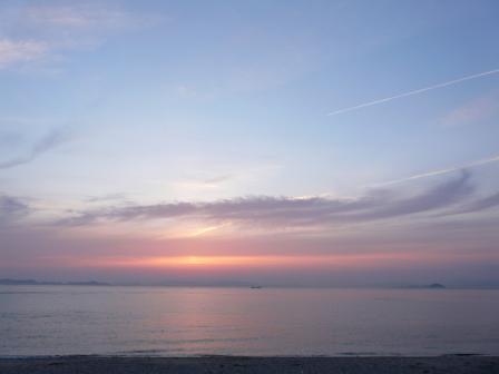 モンチッチ海岸 夕景 6