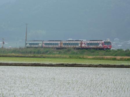 宇和町 アンパンマン列車 2