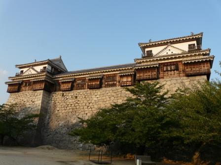 松山城 北隅櫓・十間廊下・南隅櫓