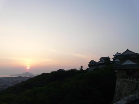 山頂広場からの夕景 3